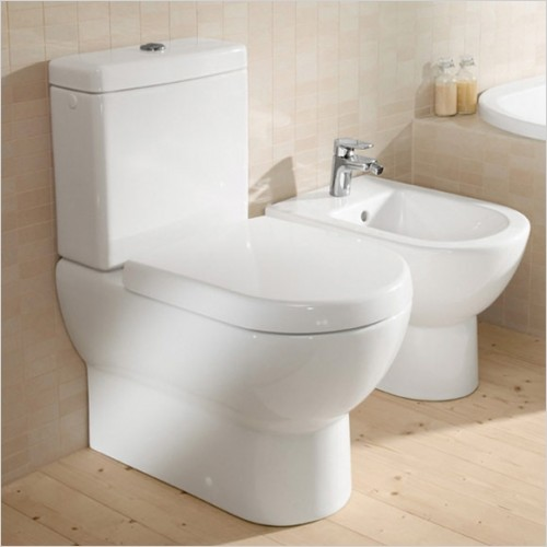 Villeroy & Boch - Soho Close Coupled Back To Wall WC