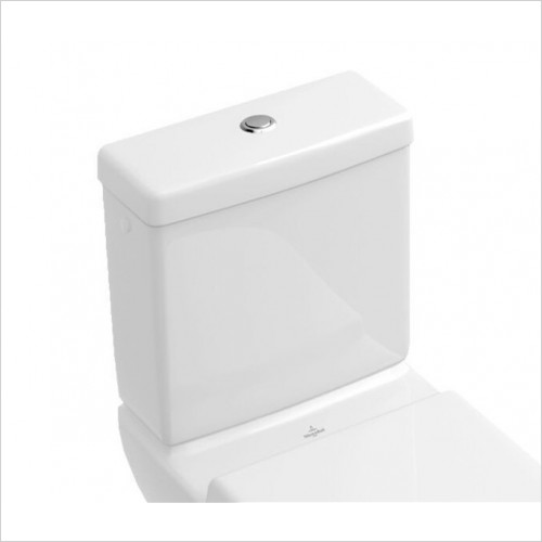 Villeroy & Boch - Soho Close Coupled Cistern With Bottom Inlet