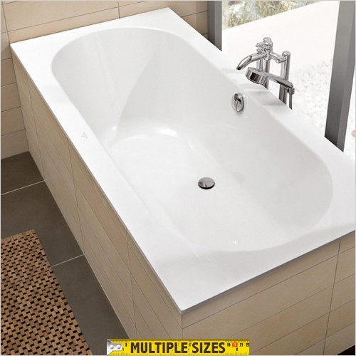 Villeroy & Boch - Soho Double Ended Quaryl Bath 1900 x 900mm