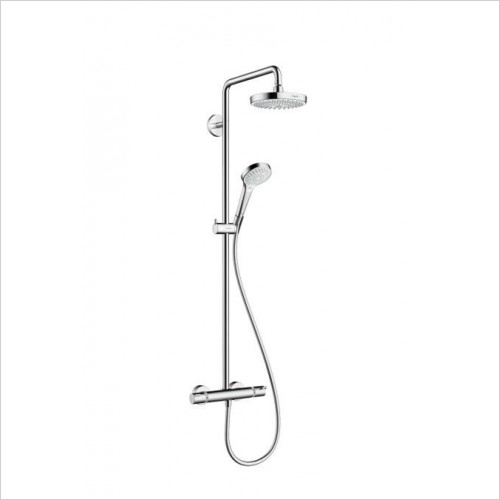 Hansgrohe - Croma Select S 180 2 Jet Showerpipe