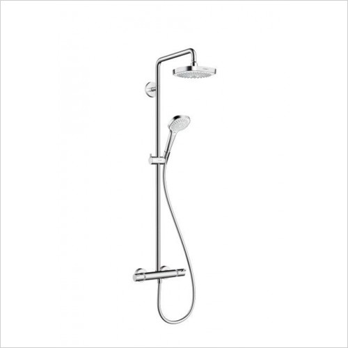 Hansgrohe - Croma Select E 180 2 Jet Showerpipe