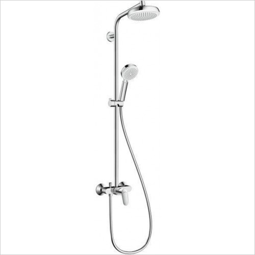 Hansgrohe - Crometta 160 Showerpipe With Single Lever Mixer