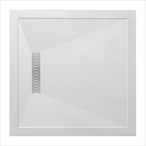 Crosswater - Square 25mm Linear Tray - 900 x 900mm