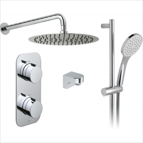 Vado - Tablet Altitude Vertical 2 Way Overhead Shower Package