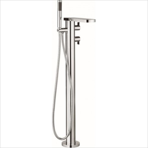 Crosswater - Wisp Floorstanding Thermostatic Bath Shower Mixer With Kit