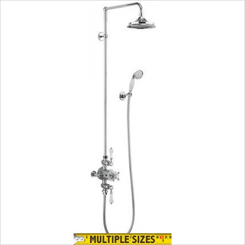 Burlington - Avon Exposed With Rigid Riser, Fixed Head, Hose & Handset