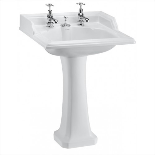 Burlington - Classic Regal Tall Round Pedestal For Classic & 800 Basins