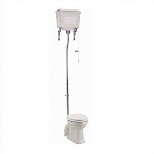 Burlington - White Aluminium High Level Cistern