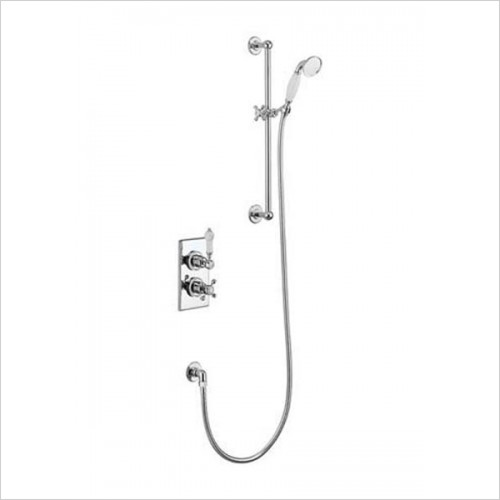 Burlington - Trent Concealed With Slide Rail, Hose & Handset