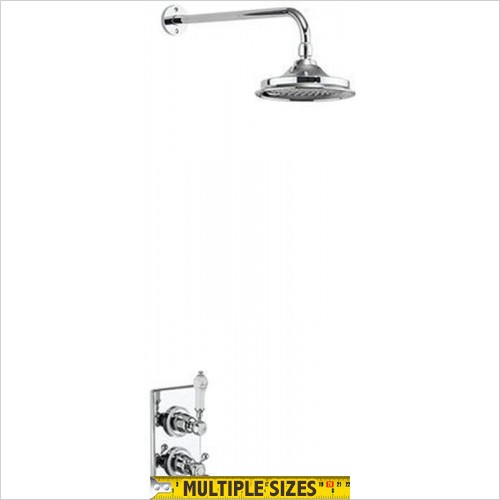 "Burlington - Trent Concealed With Fixed Head Shower, 6"" Head"