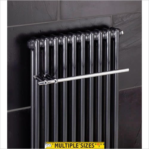 Bisque Radiators - Classic Towel Rail For 306mm Radiator (6 Elements)