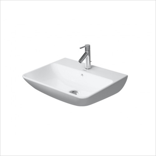 Duravit - ME By Starck Washbasin 600mm, 1 Tap Hole