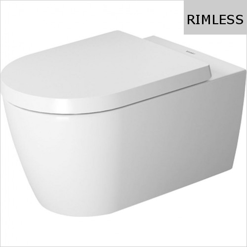 Duravit - ME By Starck Toilet Wall Mounted Rimless