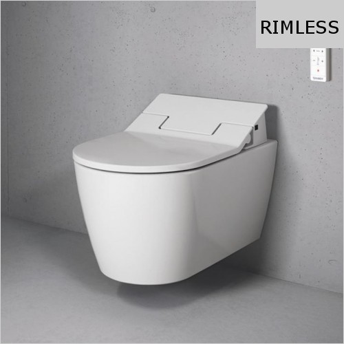 Duravit - ME by Starck Toilet Wall Mounted Rimless For Sensowash