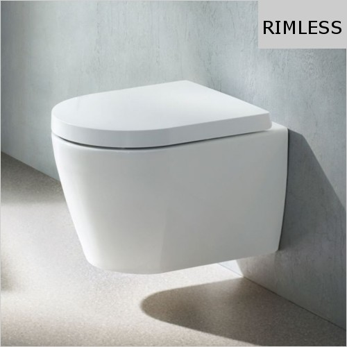 Duravit - ME By Starck Toilet Wall Mounted Compact Rimless