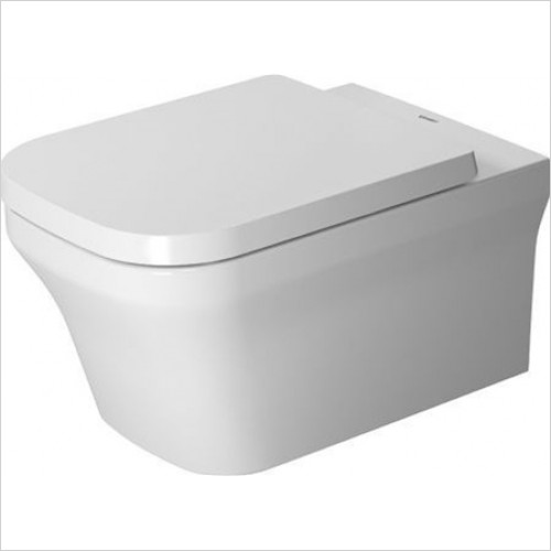 Duravit - P3 Comforts Rimless Wall Mounted Toilet 570mm