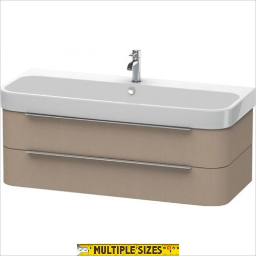 Duravit - Happy D.2 Vanity Unit With 2 Drawers For 1200mm Basin