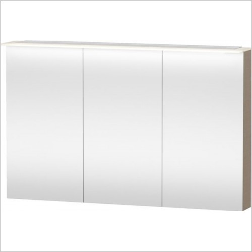 Duravit - Happy D.2 Mirror Cabinet 760x1200x138/208mm