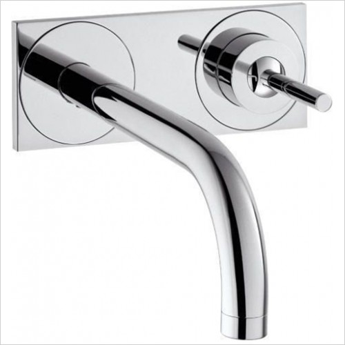 Hansgrohe - Axor Uno2 Wall Mounted Basin Mixer With Plate