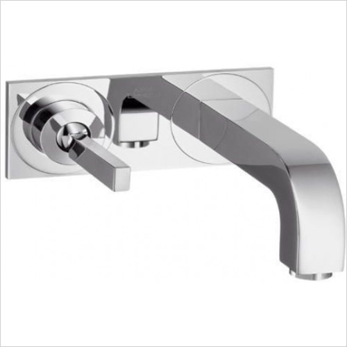 Hansgrohe - Axor Citterio Wall Mounted Basin Mixer With Plate