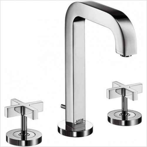 Hansgrohe - Axor Citterio Crosshead 3 Hole Basin Mixer Without Plate