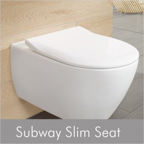Villeroy & Boch - Subway Slim Soft Close WC Seat & Cover