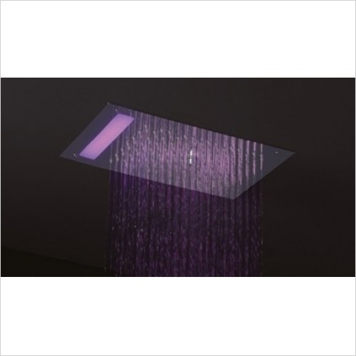 Crosswater - Rio Mini Shower Head With Lights