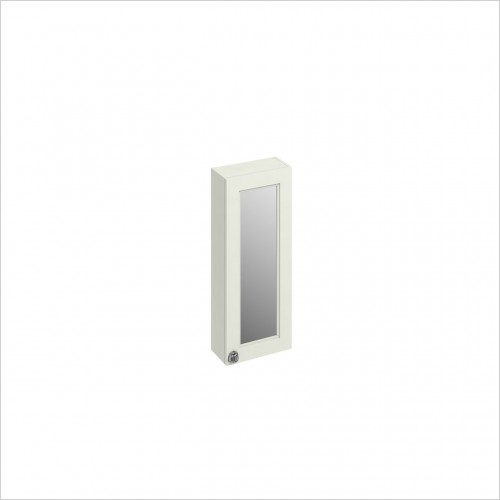 Burlington - 300mm Single Door Mirror Wall Unit