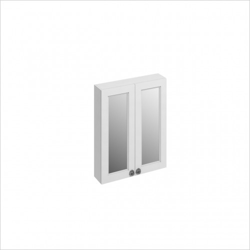 Burlington - 600mm Double Door Mirror Wall Unit