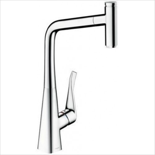Hansgrohe - Metris Select Kitchen Mixer 320 With Pull-Out Spout