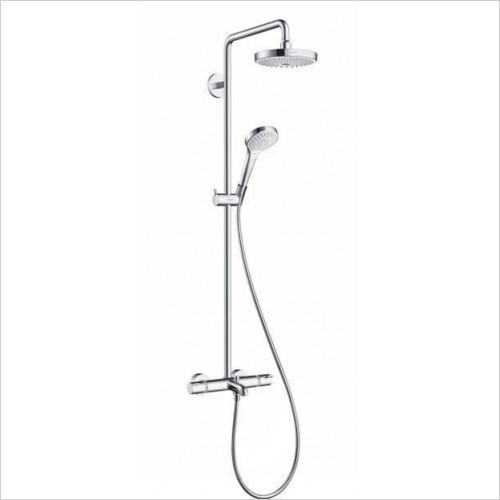 Hansgrohe - Croma Select S 180 2 Jet Showerpipe For Bath
