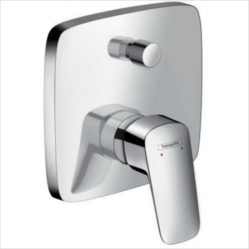 Hansgrohe - Logis Bath Mixer Concealed With Security Combination