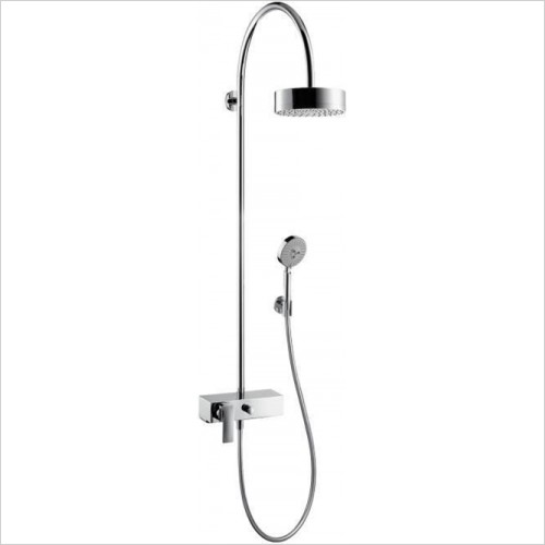 Hansgrohe - Axor Citterio Thermostatic Showerpipe With 180mm Shower