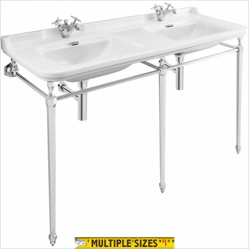 Crosswater - Waldorf 1500mm Wide Basin Console