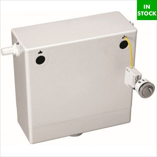 Pura Bathrooms - Cable Operated Concealed Cistern With Dual Flush Button
