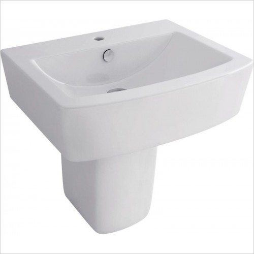 Pura Bathrooms - Half Pedestal