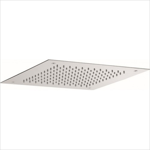 Crosswater - Square Recessed Shower Head 380mm