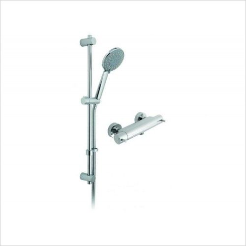 "Vado - Celsius 1/2"" Exposed Thermostatic Shower Package"