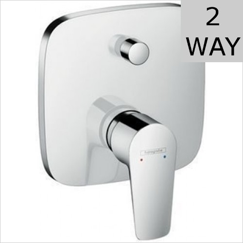 Hansgrohe - Talis E Single Lever Bath Mixer For Concealed Installation