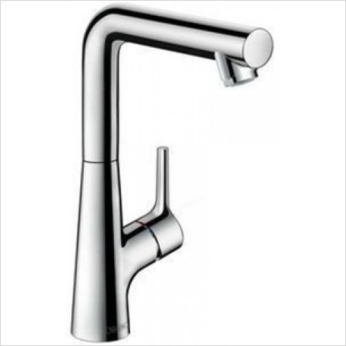 Hansgrohe - Talis S Single Lever Basin Mixer 210, Pop-Up Waste