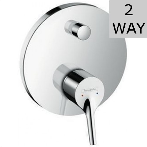 Hansgrohe - Talis S Single Lever Bath Mixer For Concealed Installation