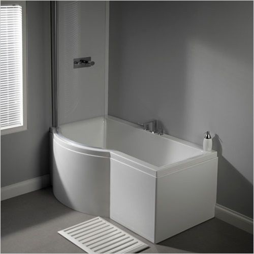 Carron - Urban Shower Bath 1500 x 750/900mm, 5mm LH