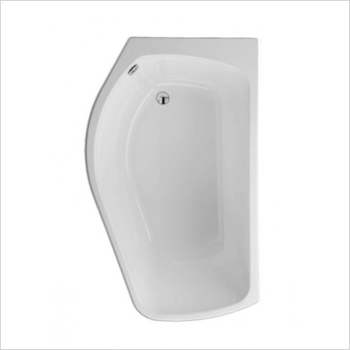 Carron - Profile Shower Bath 1500 x 900mm LH 5mm