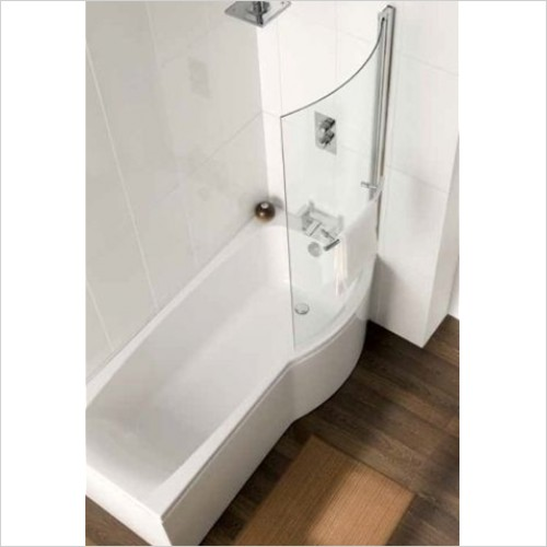 Carron - Axis Shower Bath Front Panel - 1700mm, 5mm