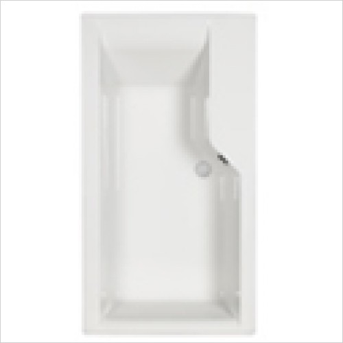Carron - Swing Bath 1575 x 850mm, Carronite LH