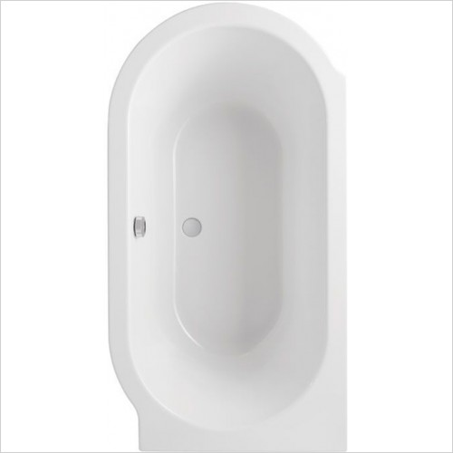 Carron - Advantage Deep Bath 1500 x 800mm, 5mm LH