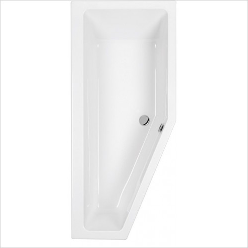 Carron - Quantum Spacesaver Bath 1700 x 742mm, 5mm, LH
