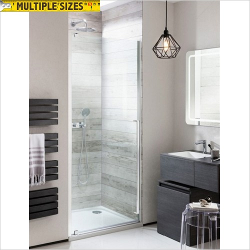 Crosswater - Pier 800mm Hinged Shower Door