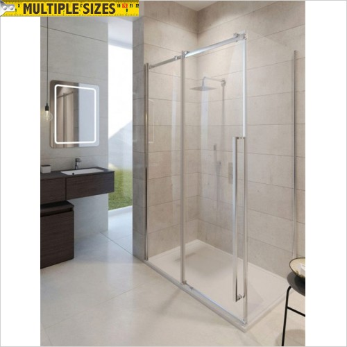 Crosswater - Pier 1200mm Single Slider Shower Door