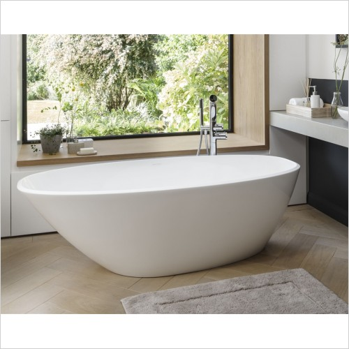 Victoria & Albert - Mozzano Freestanding Bath 1645 x 741mm